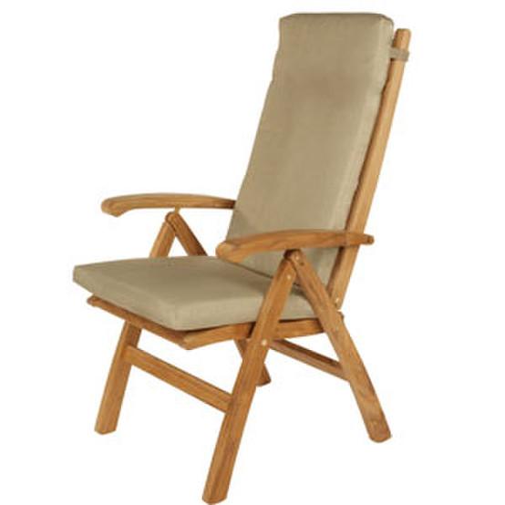 Cushion Set for High Back Chair