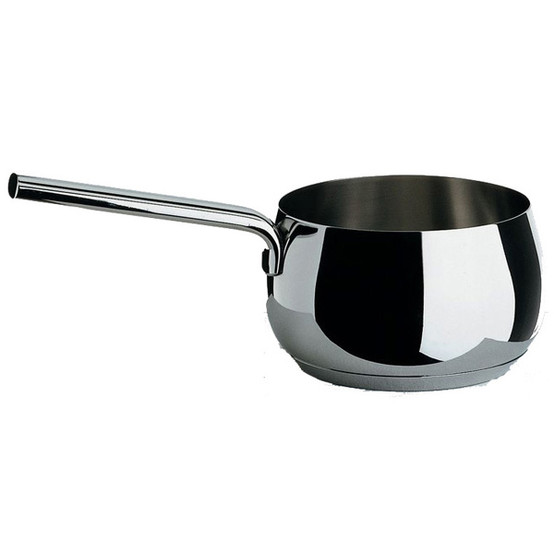 Mami 1 Qt Sauce Pan in Polished Silver