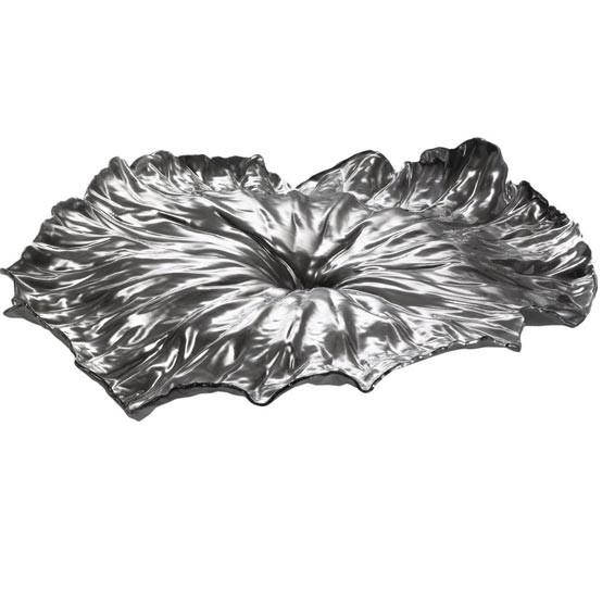 """A Lotus Leaf"" Centerpiece Tray"