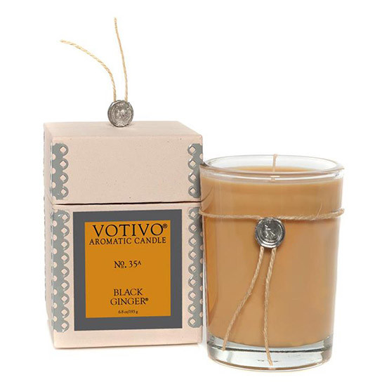 Black Ginger Scented Candle