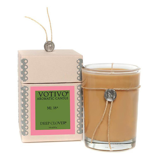 Deep Clover Scented Candle