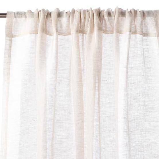 Libeco Home Casper Pole Pocket Curtain