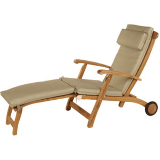 Long Steamer Chair Cushion