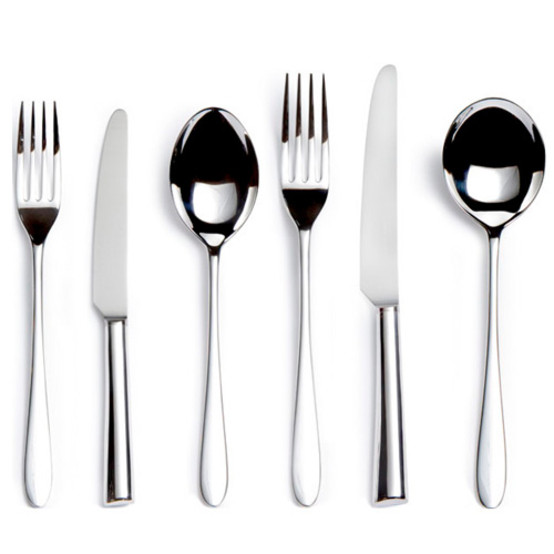 Pride Stainless Steel 6 piece Place Setting