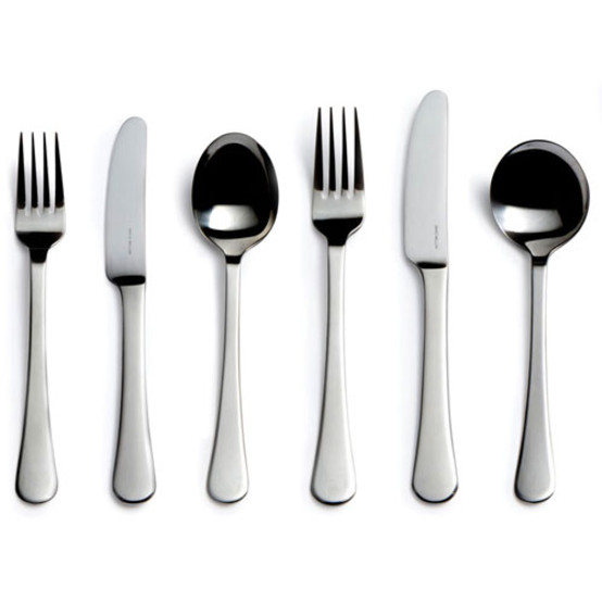 Classic Stainless Steel 6 piece Place Setting