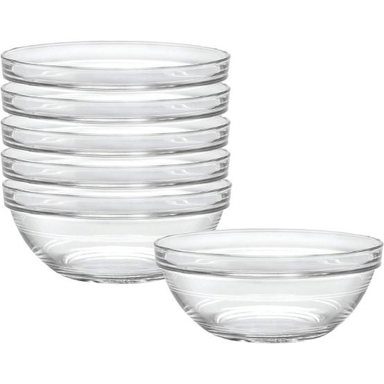 Lys Stackable Clear Bowl 1 qt