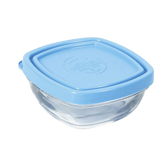 Lys Square Bowl with Lid 5-3/8oz