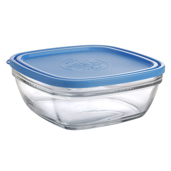 Lys Square Bowl with Lid 68oz