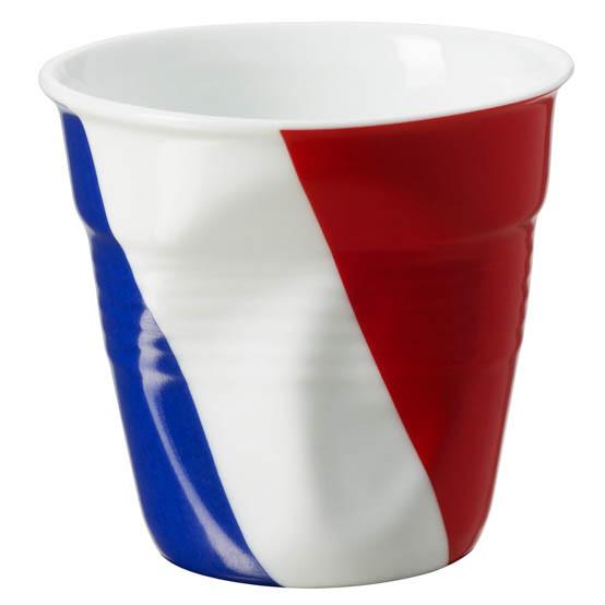 Espresso Tumbler White with French flag