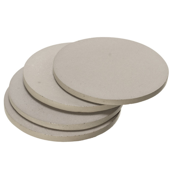 Round Concrete Coasters - Gray