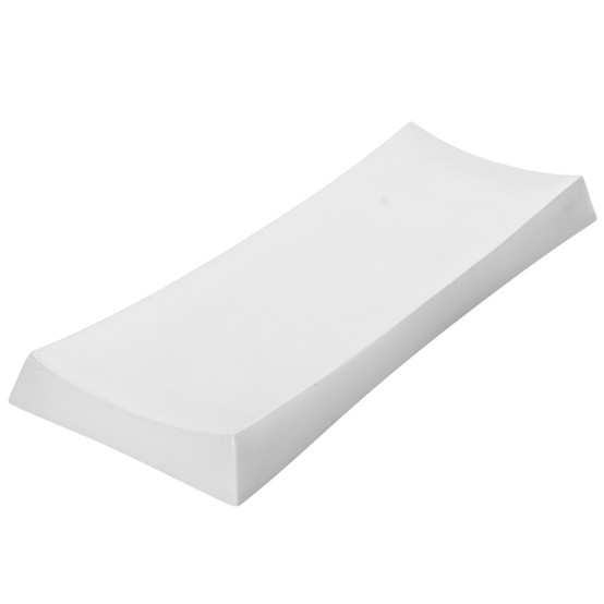 Concrete Tray - White