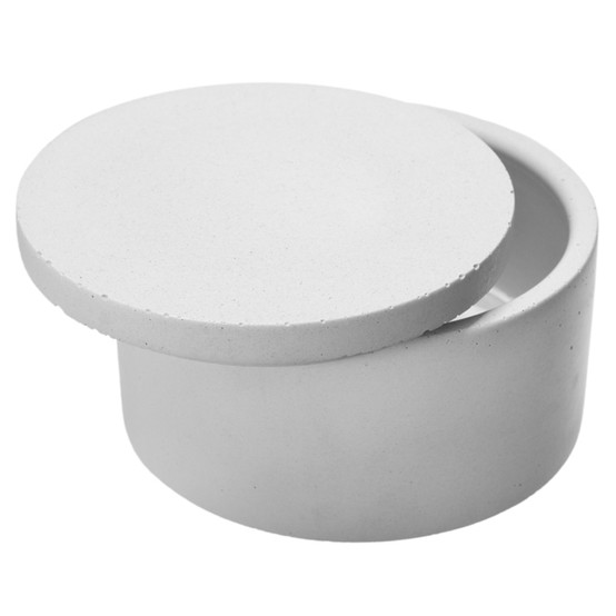Classic Salt Cellar - White