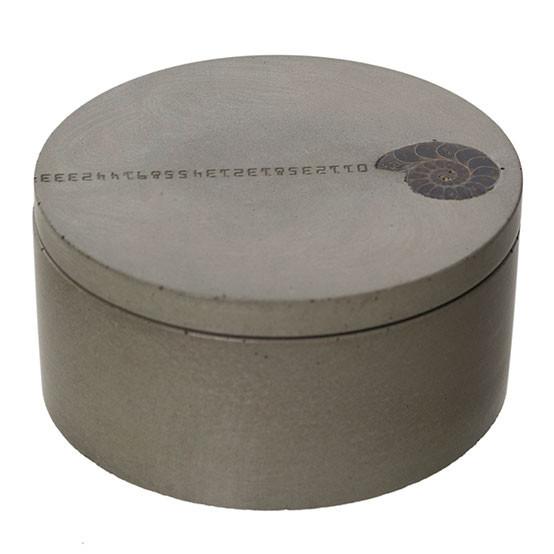 Inlayed Classic Salt Cellar - Gray