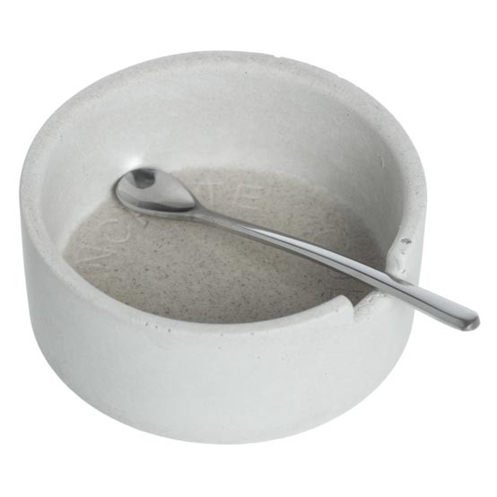 Classic Salt Cellar w/ scoop - White