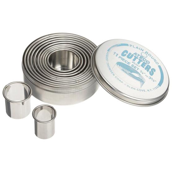 Plain Round Cutter Set