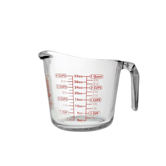Harold Imports Anchor 4 Cup Measuring Cup - Oven Proof