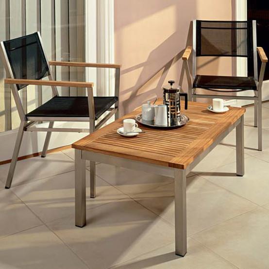 Equinox Rectangular Low Coffee Table