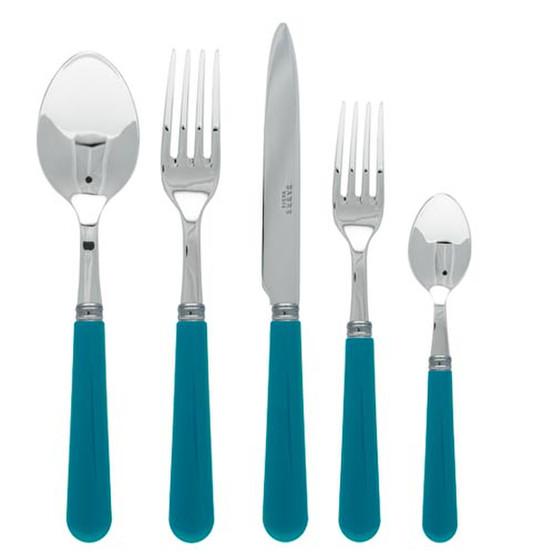 Basic 5 Piece Place Setting-Turquoise