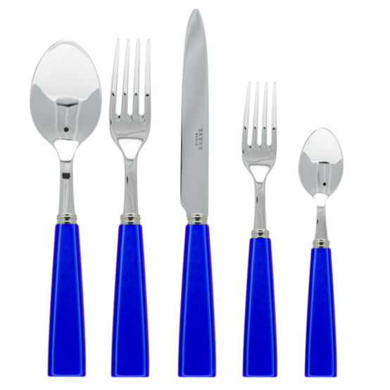 Natura 5 Piece Place Setting-Lapis Blue