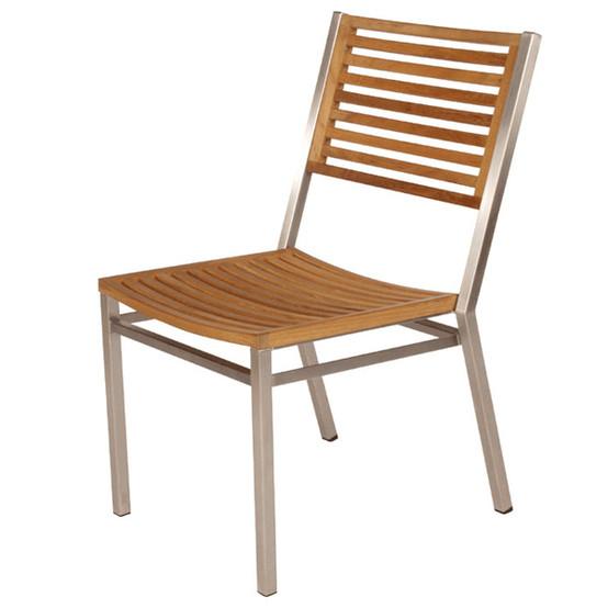 Equinox Stacking Chair Teak