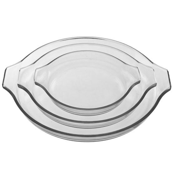 """Glass Quiche Dish 8.3"""" x 7.1"""""""