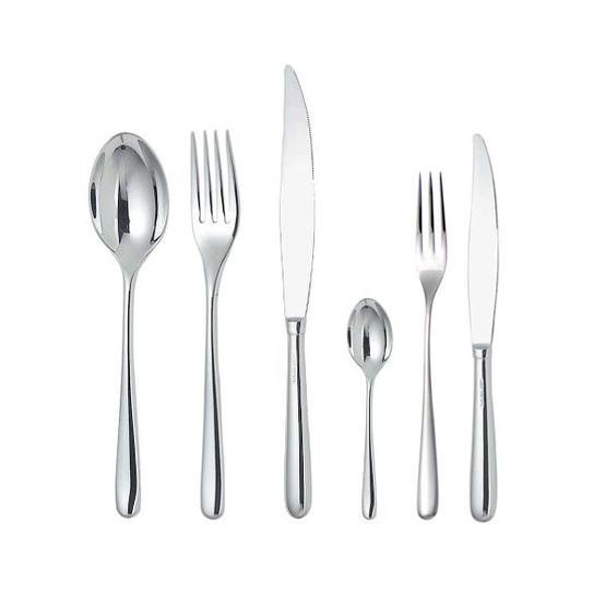 Caccia 6 Pcs.Cutlery Set - 4 prong fork