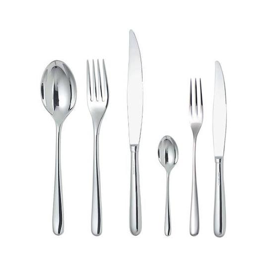 Caccia 6 Pcs.Cutlery Set - 4 prong fork