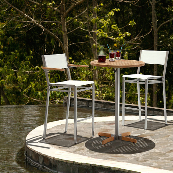 Equinox High Dining Carver Chair