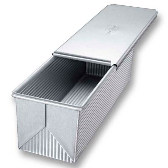 Pullman Loaf Pan & Cover, 9 x 4