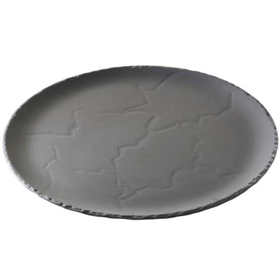 Basalt Round Plate