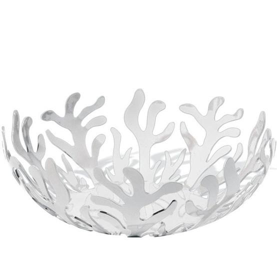Mediterraneo Large Fruit Bowl in White