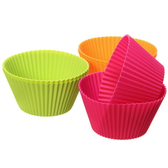 Big Muffin Cups 6 Pcs (3 Col X 2 Pc)