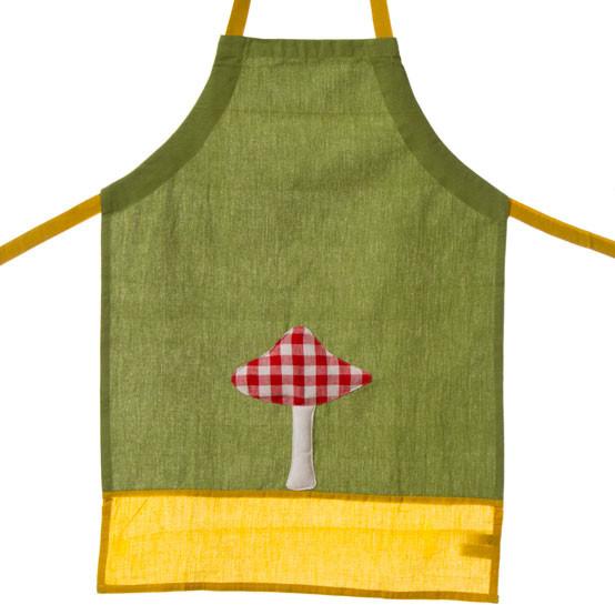 Kid's Mushroom Apron