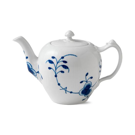 Blue Fluted Mega Teapot