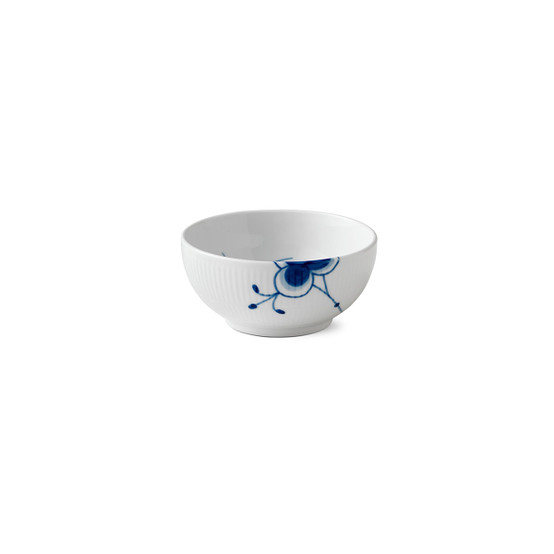 Blue Fluted Mega Serving Bowl 5.25 Inches