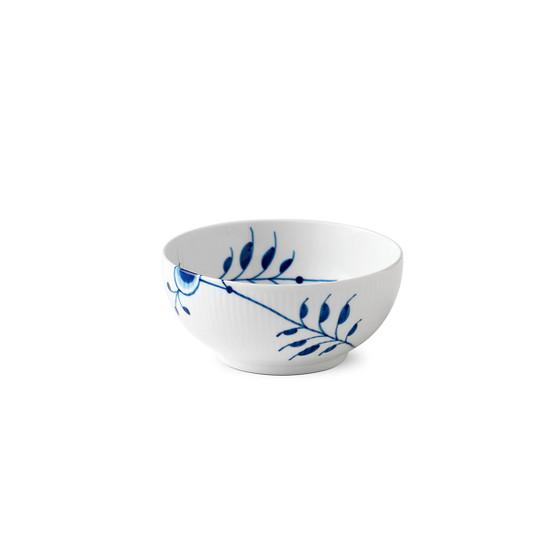 Blue Fluted Mega Serving Bowl 6 Inches