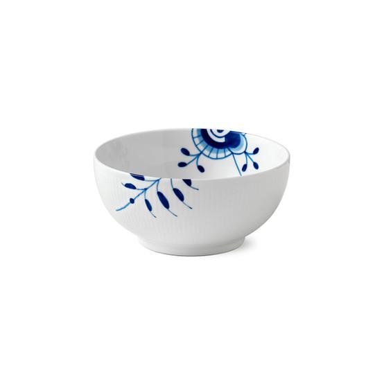 Blue Fluted Mega Serving Bowl 7 inches