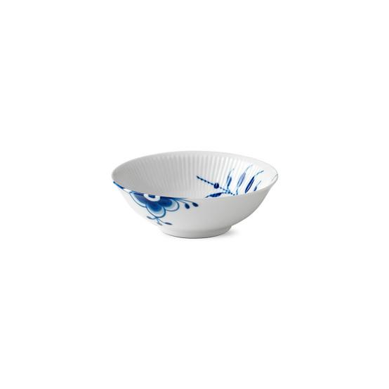 Blue Fluted Mega Cereal Bowl