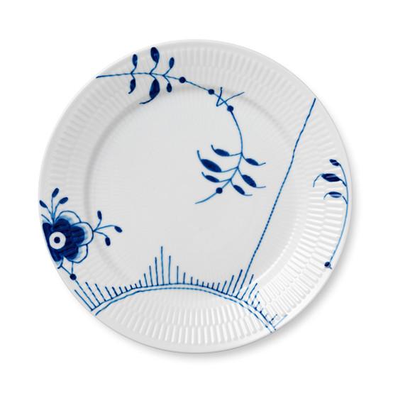 Blue Fluted Mega Dinner Plate