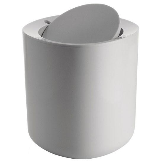 Birillo Bathroom Waste Dark Grey