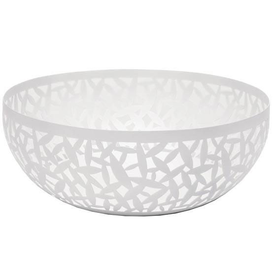 Cactus! Large Fruit Bowl in White
