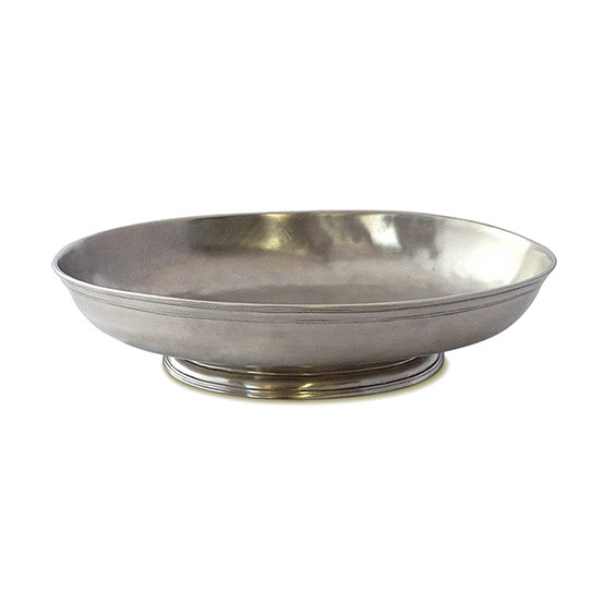Medium Low Footed Oval Centerpiece Bowl