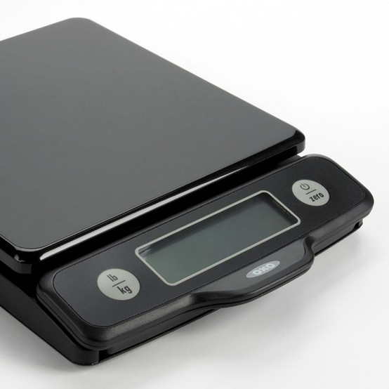Good Grips 5 lb Food Scale W/ Pull Out Display in Black