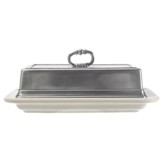 Convivio Double Butter Dish with Cover