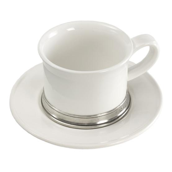 Convivio Tea Cup with Saucer