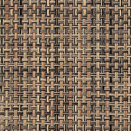 Basketweave Floormat Bark Sample