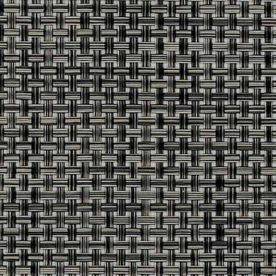 Basketweave Floormat Carbon Sample