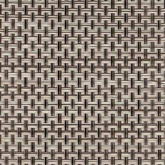 Basketweave Floormat Oyster Sample