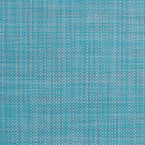 Mini Basketweave Floormat Floormat Turquoise Sample