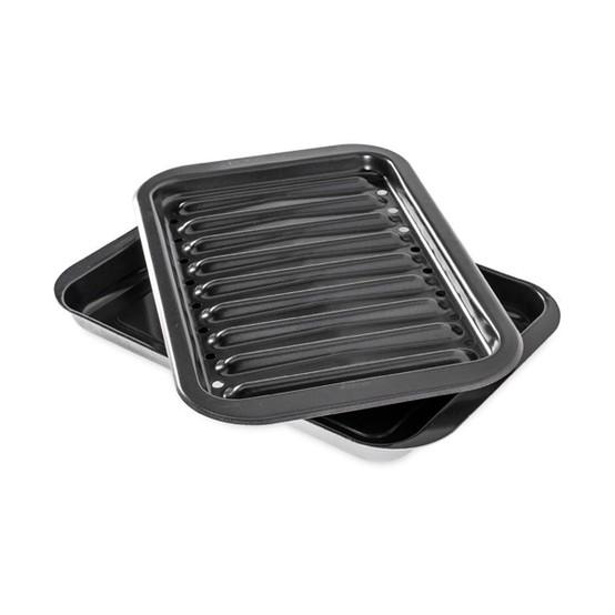 Nonstick Broiler Grill Pan Set